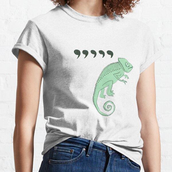 virgule caméléon T-shirt classique