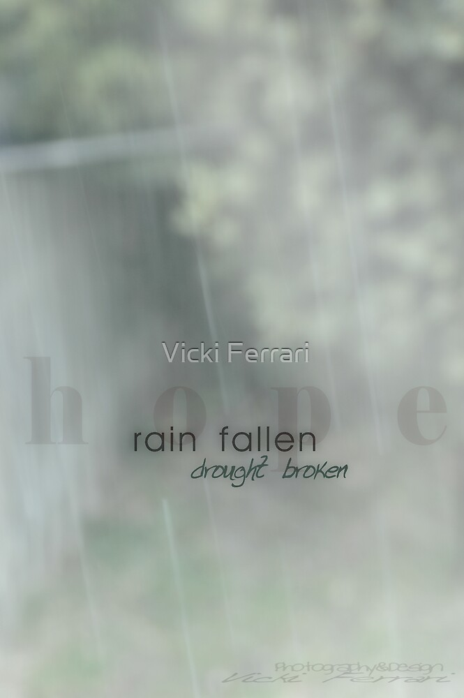 Hope Showers © by Vicki Ferrari