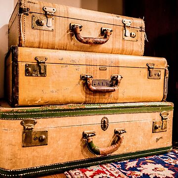 Nevada City Suitcases by KristofferGlenn