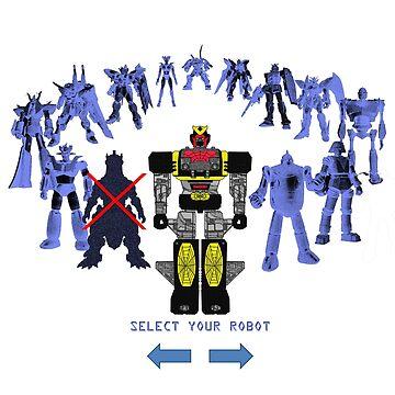 'Please accept a giant robot as your reward' by Tsudo