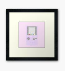 Pastel Video Game Framed Print
