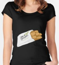 Breadsticks Fitted Scoop T-Shirt