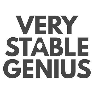 Very Stable Genius  by jesserueckert