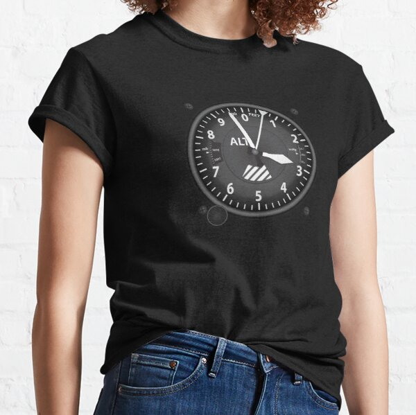 Altimeter Flight Instruments Classic T-Shirt