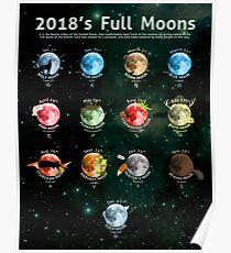 Vollmond 2018 Poster