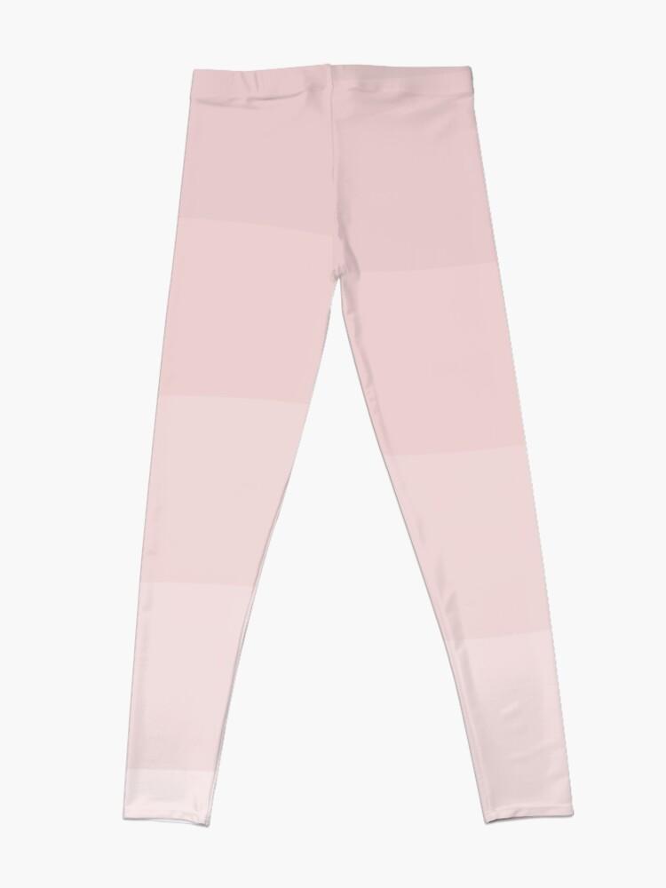 Alternate view of Pink wave. Leggings