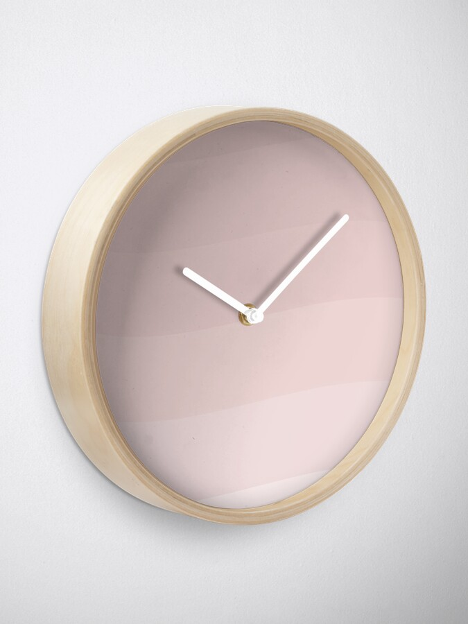 Alternate view of Pink wave. Clock