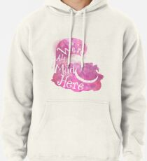 We're All Mad Here Pullover Hoodie