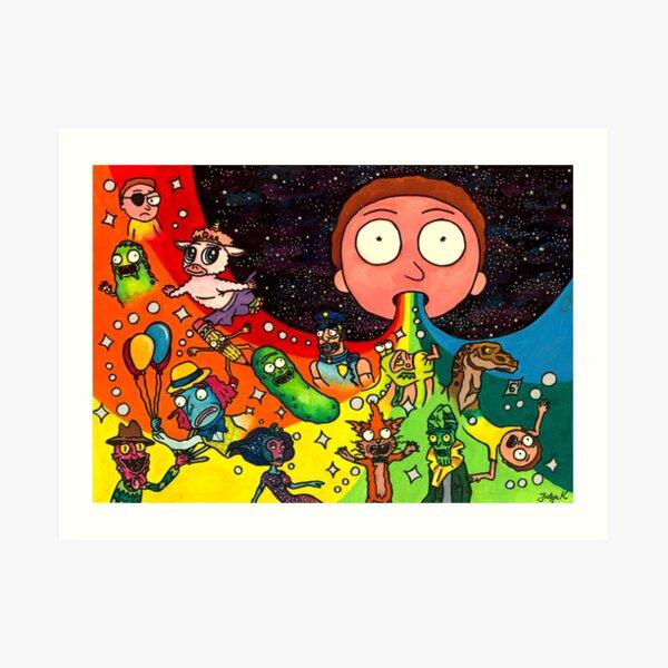 Rick's Dream Art Print