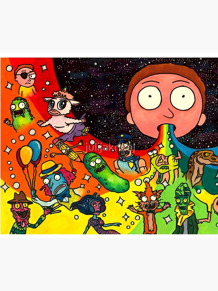Rick's Dream by julijakrizaj