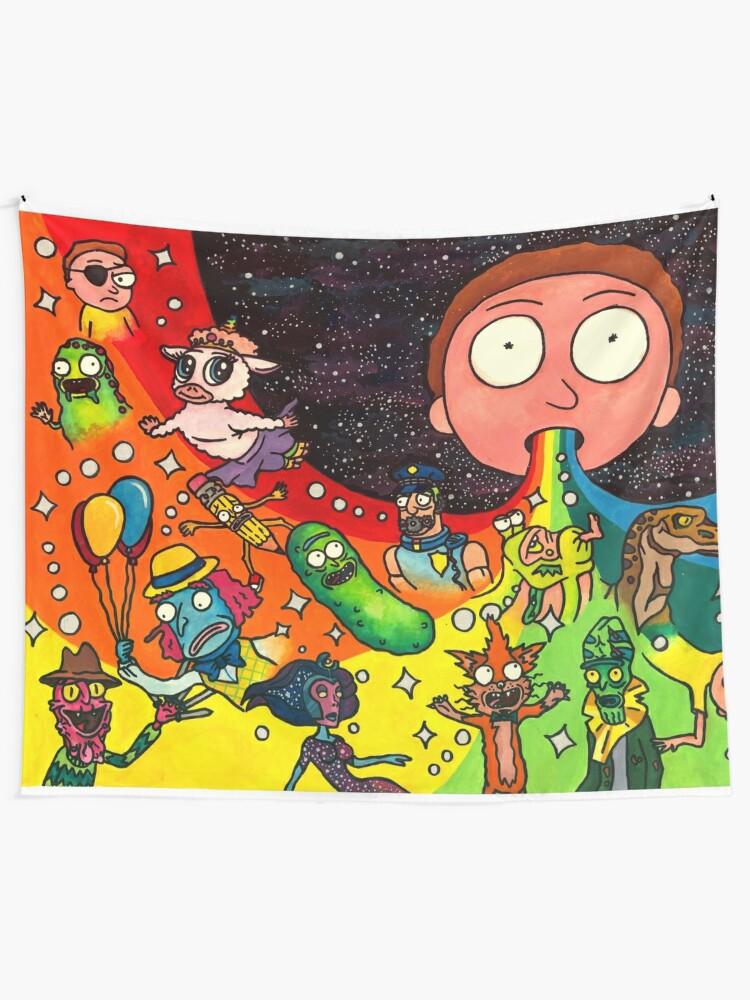 Alternate view of Rick's Dream Tapestry