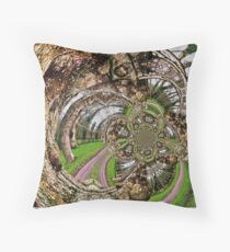 Look into the Heart of the Tree & see what your eyes cannot. Throw Pillow