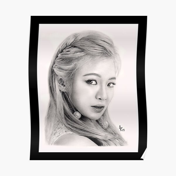 Girls' Generation Hyoyeon Kim Poster