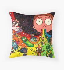 Rick's Dream Throw Pillow