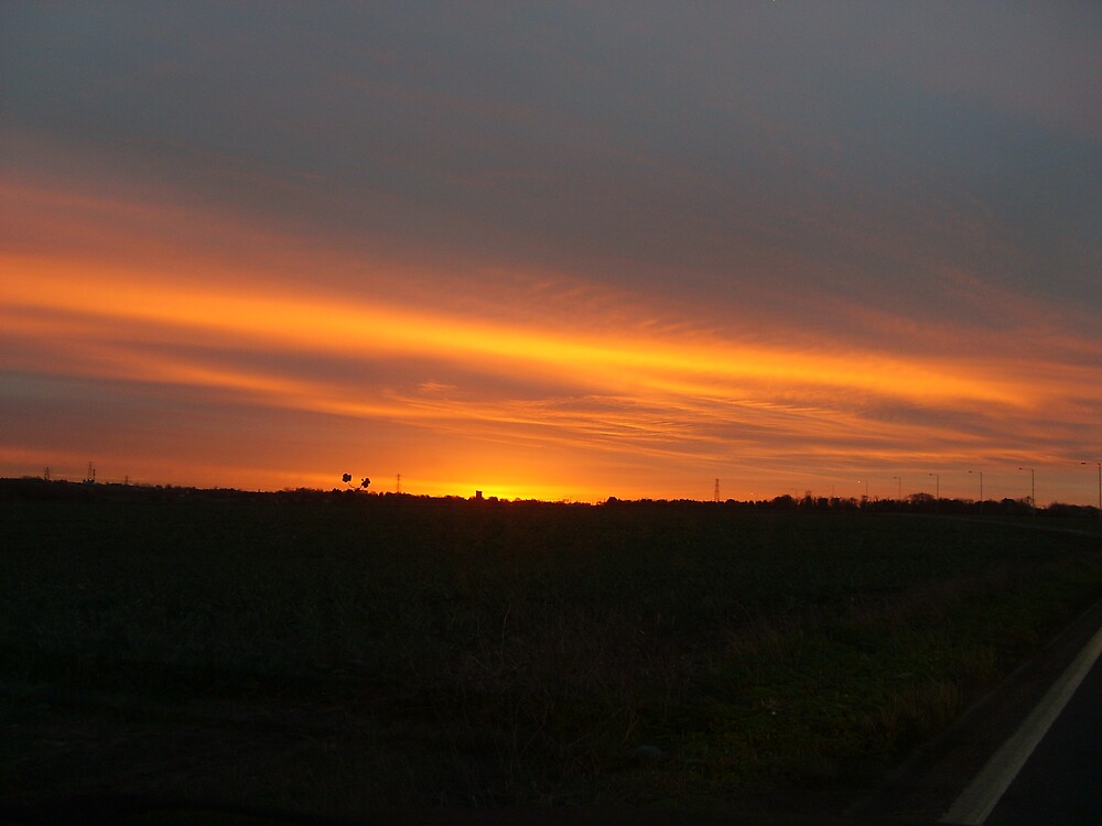 Sunrise over St. Peters, Kent by GardeningArcher