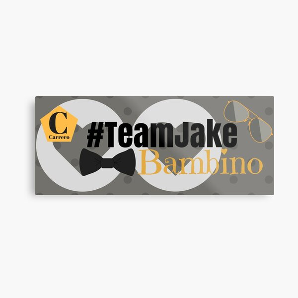 Team Jake Grey Mug Metal Print