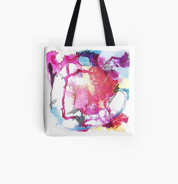 Color Twisted #6 Allover-Print Tote Bag
