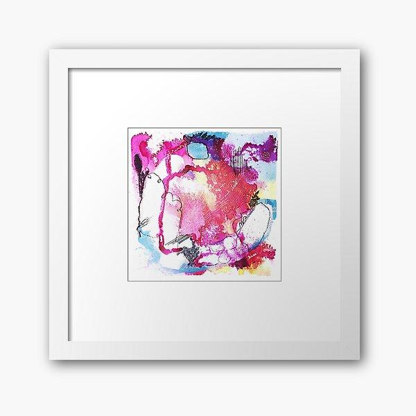 Color Twisted #6 Gerahmter Kunstdruck