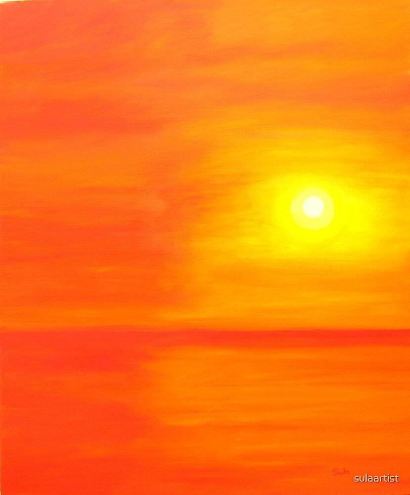 Sun Glow II by sulaartist