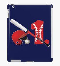Baseball - 1. Win / Baby's 1. Birthday / 1. Home Run iPad Case/Skin