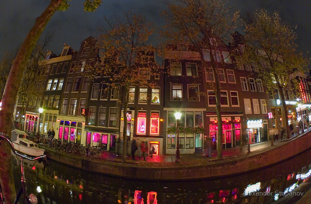Amsterdam Night 026 by Alexander Stepanov