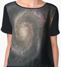 M51 Galaxy - Whirlpool Galaxy Chiffon Top