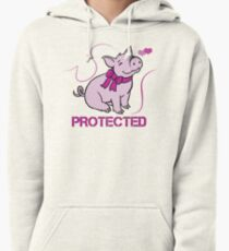 Protected Pullover Hoodie