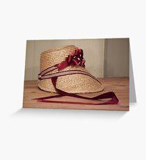 Bonnet Greeting Card