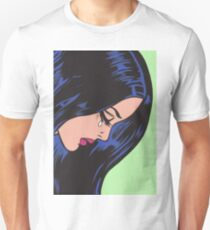 Crying Comic Girl Unisex T-Shirt
