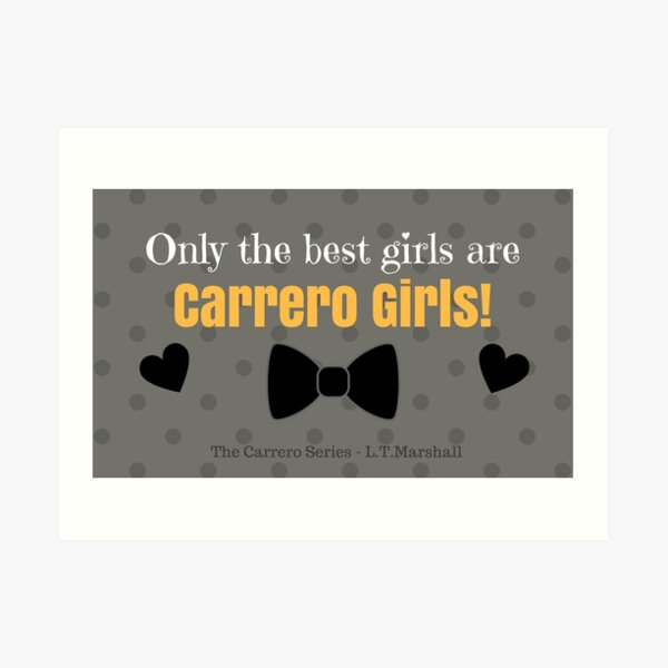 Carrero Girls Art Print