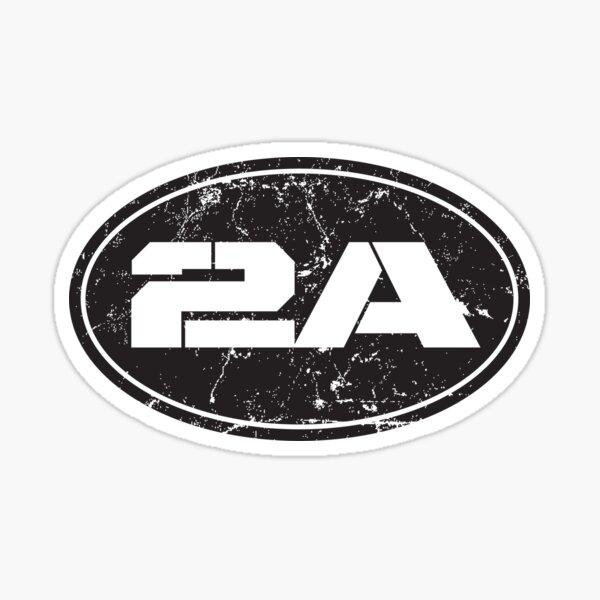2A 2nd Amendment Sticker