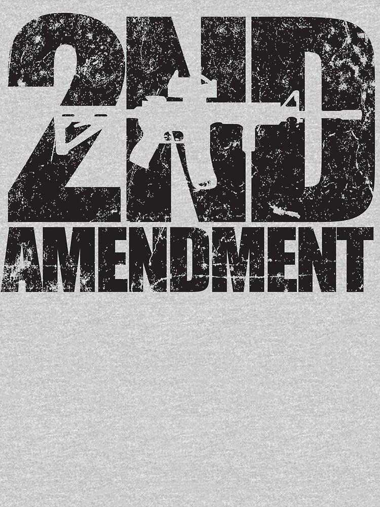 2nd Amendment rifle by MikesTeez