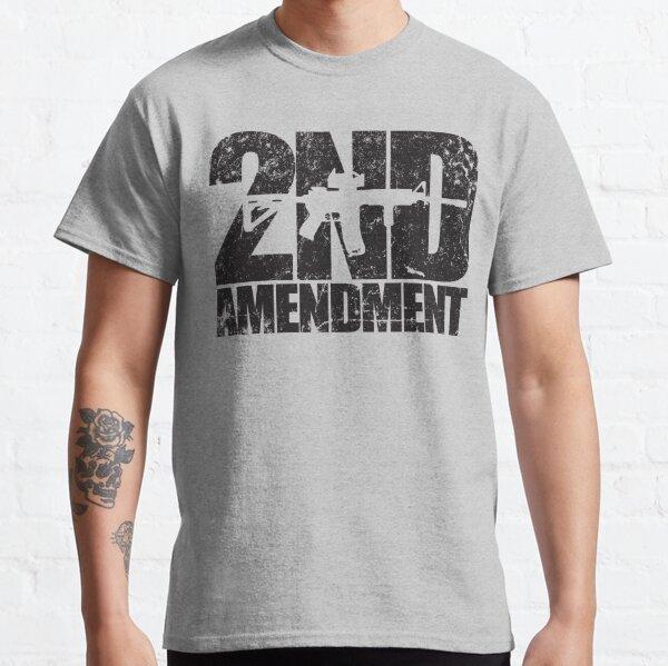 2nd Amendment rifle Classic T-Shirt