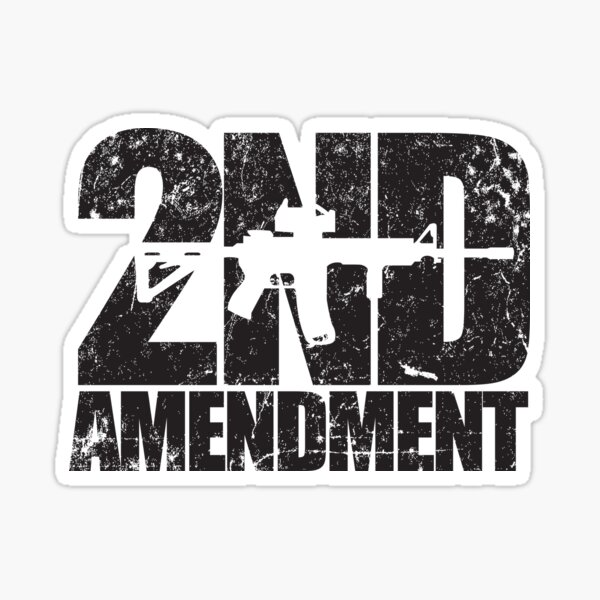 2nd Amendment rifle Sticker