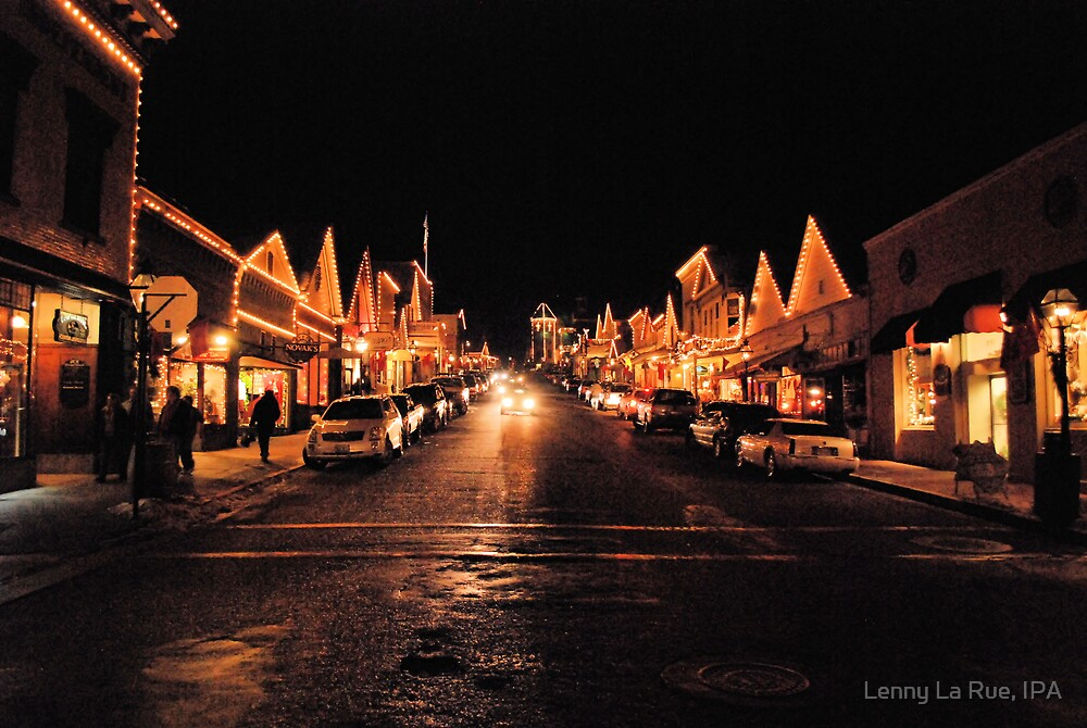 Broad Street, Nevada City, California, December 20th by Lenny La Rue, IPA