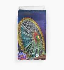 The Ferris Wheel Duvet Cover