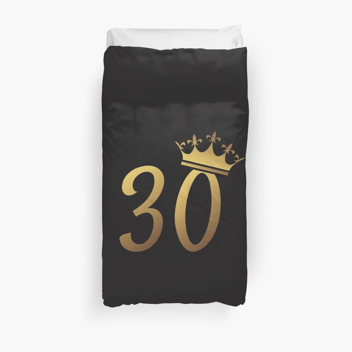 30th Birthday Queen 30 Year Old Girl Gold Party Gift By Modernmerch