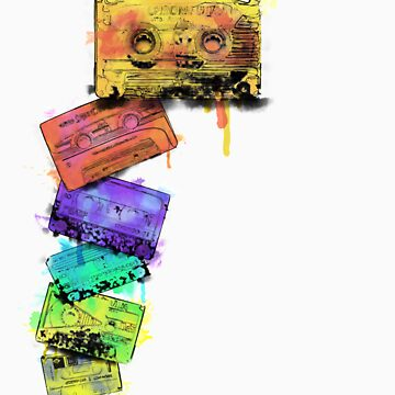 Watercolour Tapes by smaharris