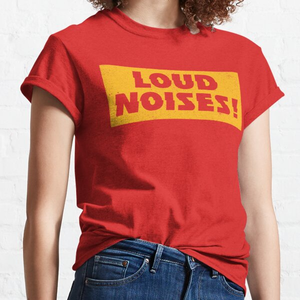 KC Chiefs - Loud Noises - Gold Classic T-Shirt