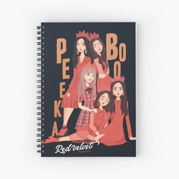 Red Velvet - Peek a Boo Spiral Notebook
