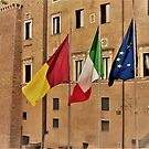 Flying the Flags............................Rome by Fara