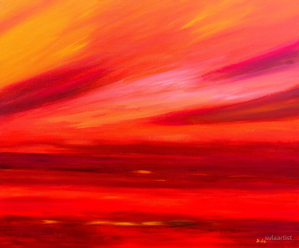 Tequila Sunrise by sulaartist