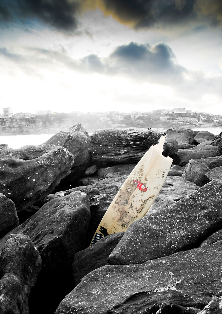 An Evening Surf by bajcotton