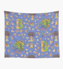 Bison, from the AlphaPod collection Wall Tapestry
