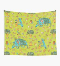 Armadillo, from the AlphaPod collection Wall Tapestry