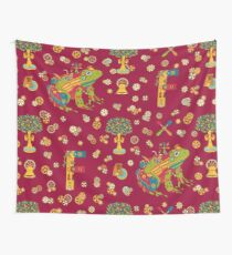 Frog, from the AlphaPod collection Wall Tapestry