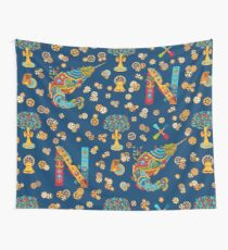Narwhal, cool art from the AlphaPod Collection Wall Tapestry
