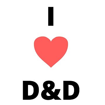 I HEART D&D by Role2Play