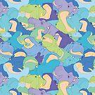 « Laughing Hippos - cool » par Hippopottermiss