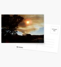 Bushfire in the Weddin Mountains, January 2006 Postcards